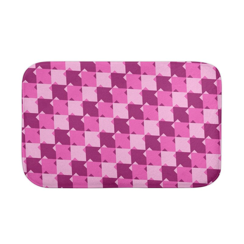 PNK Home Bath Mat by WatchPony Clothing Collection