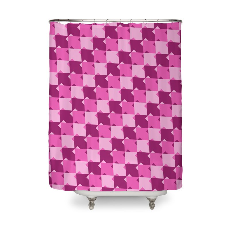 PNK Home Shower Curtain by WatchPony Clothing Collection