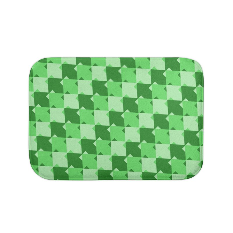 GRN Home Bath Mat by WatchPony Clothing Collection