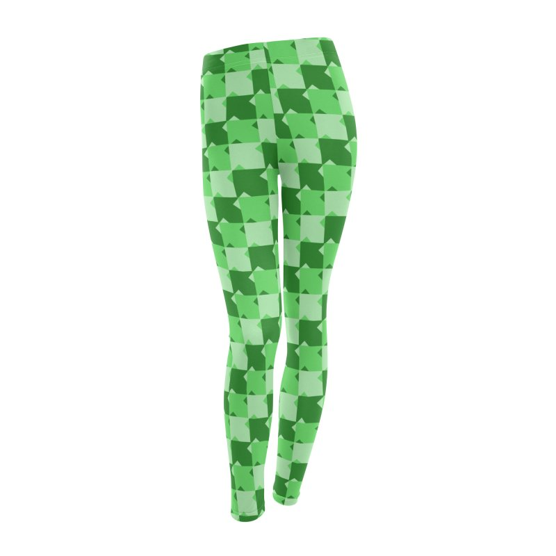 GRN Women's Leggings Bottoms by WatchPony Clothing Collection