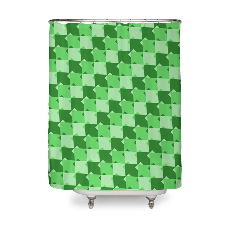 GRN Home Shower Curtain by WatchPony Clothing Collection
