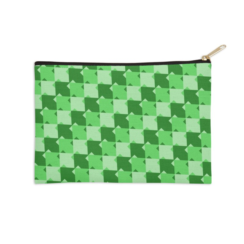 GRN Accessories Zip Pouch by WatchPony Clothing Collection