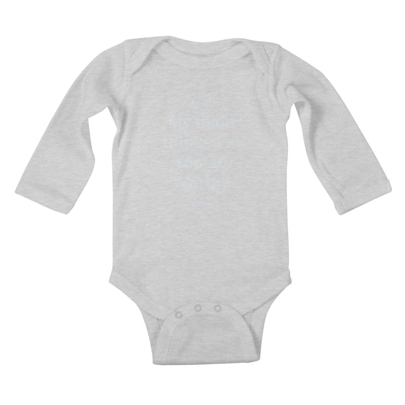 My Mom Thinks I'm Top 10 Worthy Kids Baby Longsleeve Bodysuit by WatchPony Clothing Collection