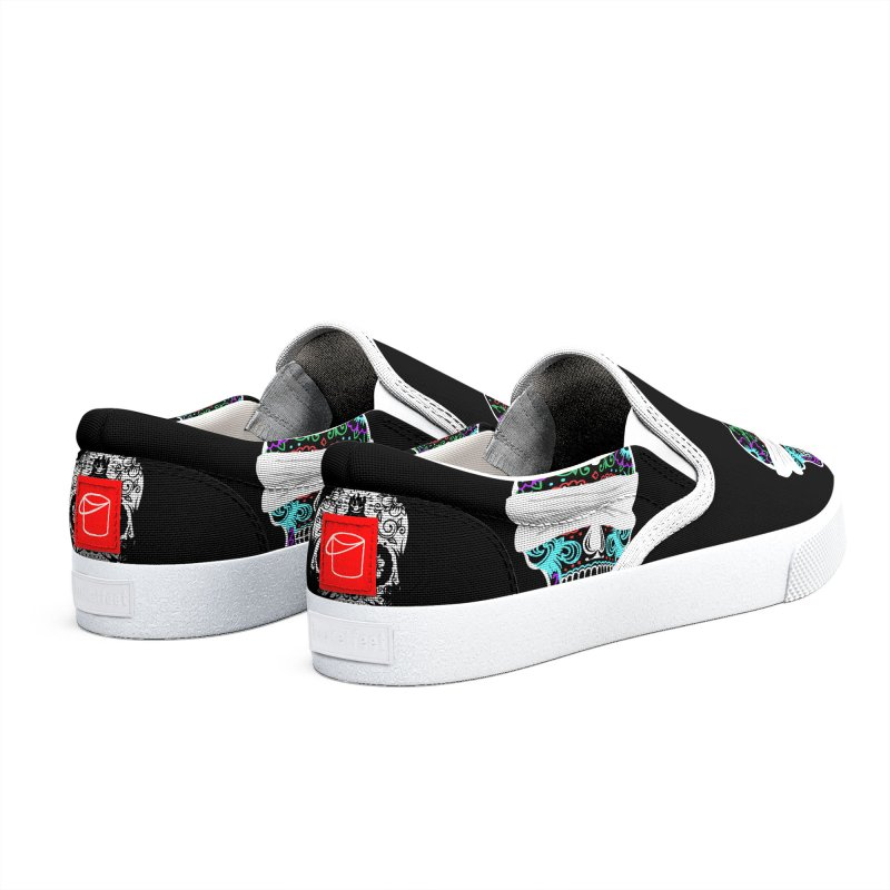 Calavera de Vista Men's Shoes by WatchPony Clothing Collection