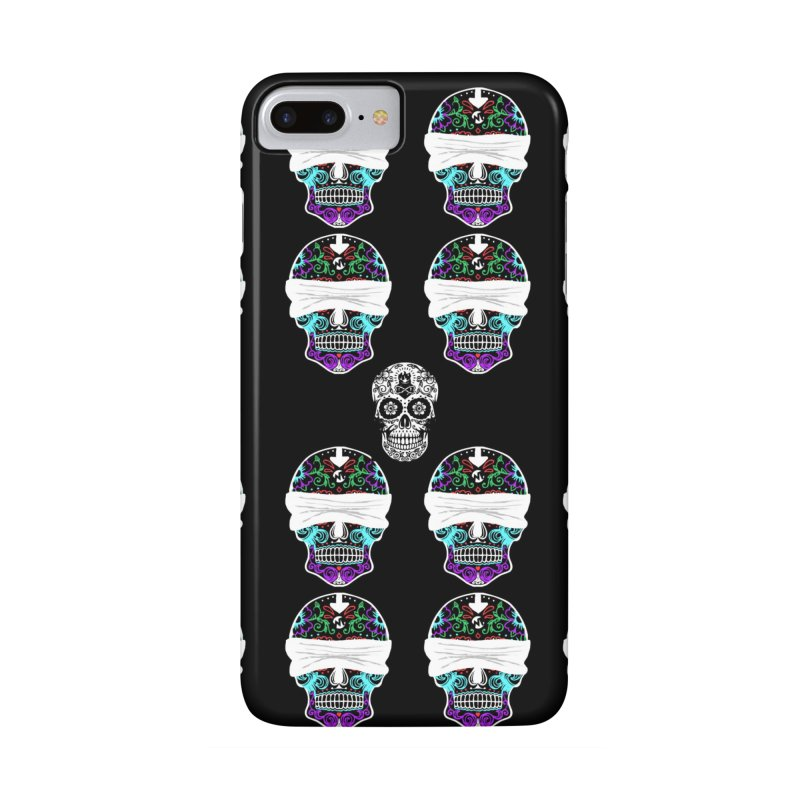 Calavera de Vista Accessories Phone Case by WatchPony Clothing Collection