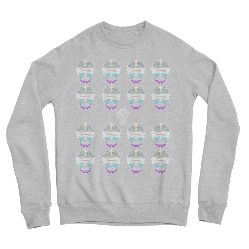 Calavera de Vista Women's Sponge Fleece Sweatshirt by WatchPony Clothing Collection