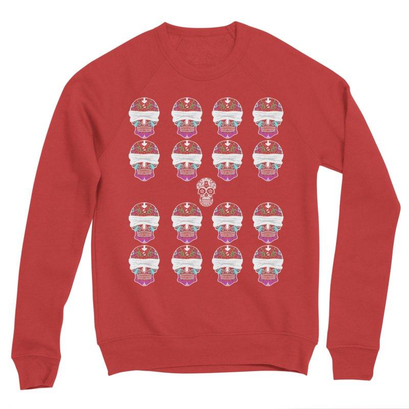 Calavera de Vista Women's Sponge Fleece Sweatshirt by WatchPony Clothing Collection