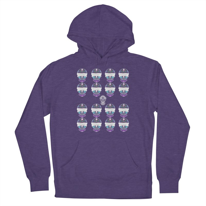 Calavera de Vista Women's French Terry Pullover Hoody by WatchPony Clothing Collection