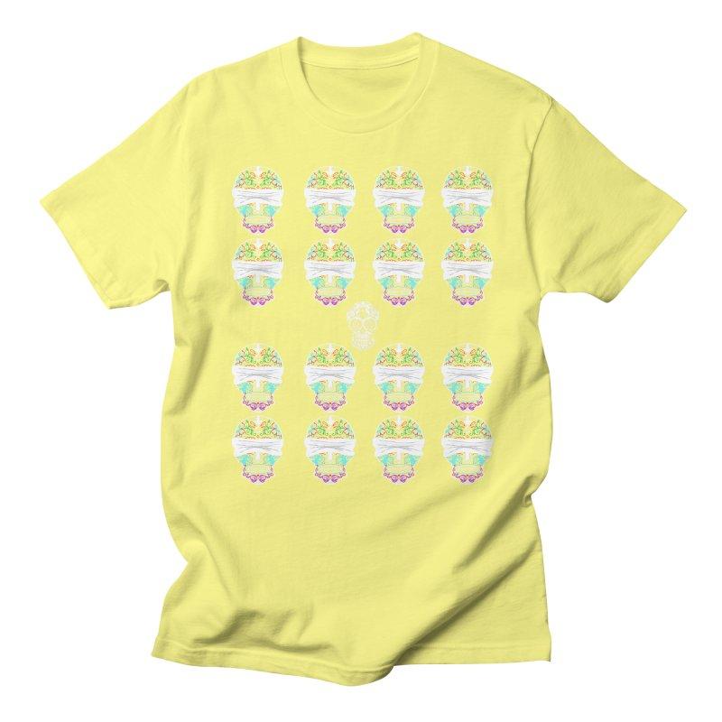 Calavera de Vista Men's Regular T-Shirt by WatchPony Clothing Collection