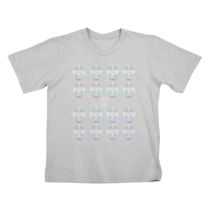 Calavera de Vista Kids T-Shirt by WatchPony Clothing Collection