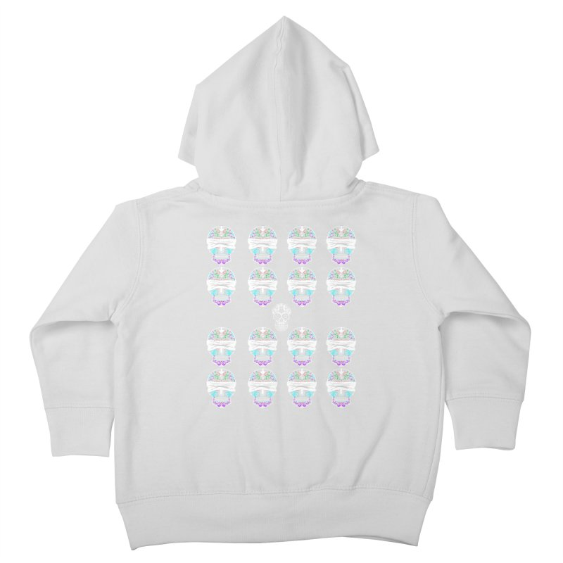 Calavera de Vista Kids Toddler Zip-Up Hoody by WatchPony Clothing Collection