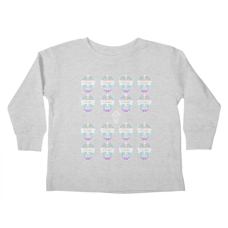 Calavera de Vista Kids Toddler Longsleeve T-Shirt by WatchPony Clothing Collection