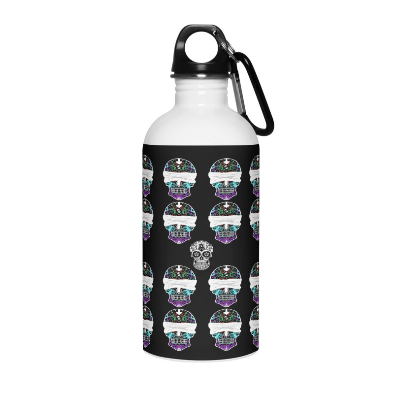 Calavera de Vista Accessories Water Bottle by WatchPony Clothing Collection