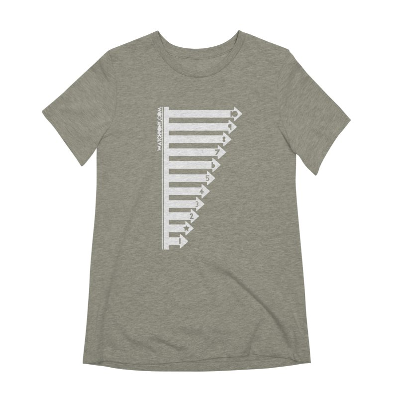 10 Women's Extra Soft T-Shirt by WatchPony Clothing Collection