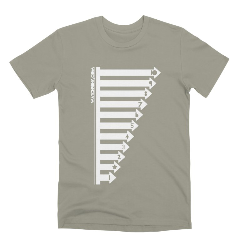 10 Men's Premium T-Shirt by WatchPony Clothing Collection