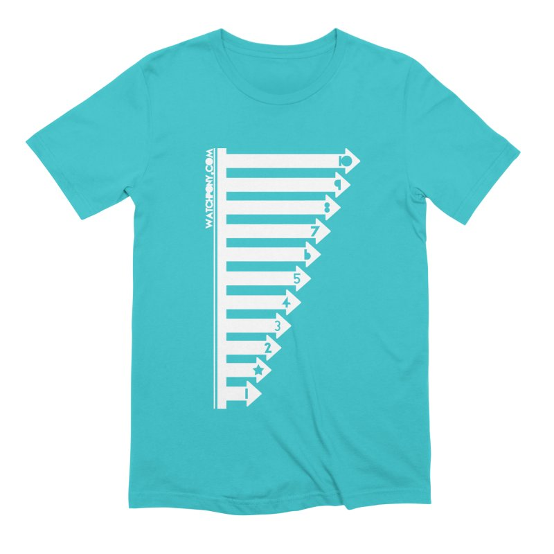 10 Men's Extra Soft T-Shirt by WatchPony Clothing Collection