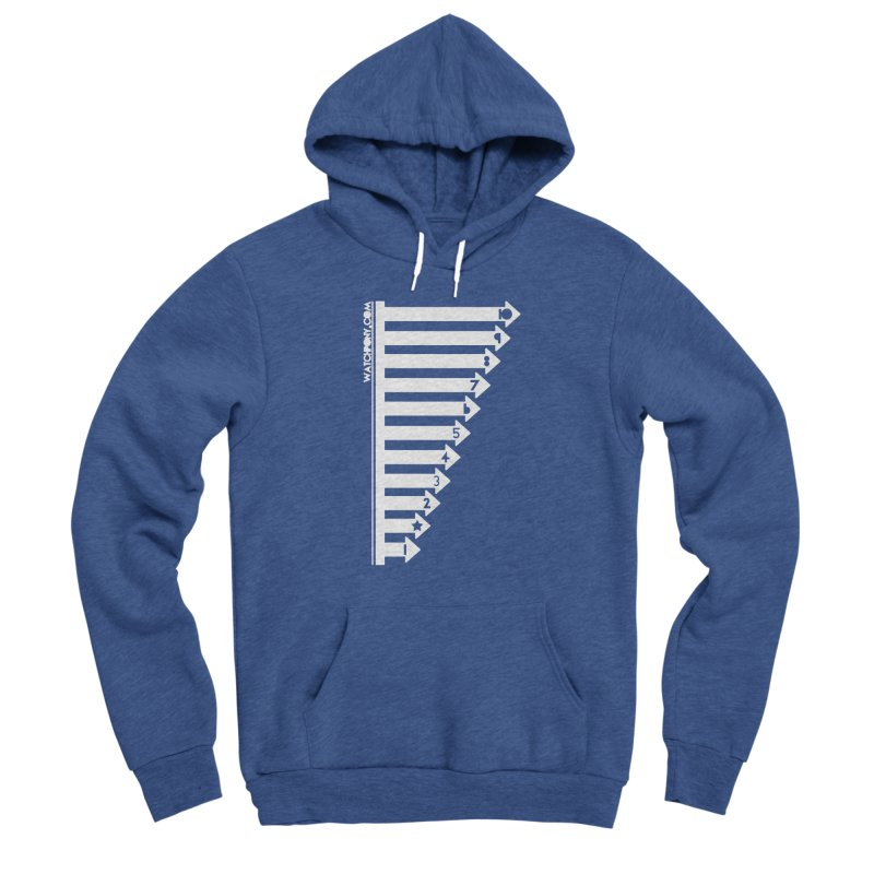 10 Women's Sponge Fleece Pullover Hoody by WatchPony Clothing Collection