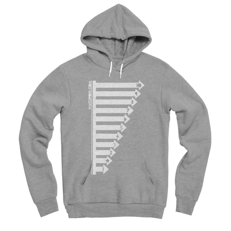 10 Men's Sponge Fleece Pullover Hoody by WatchPony Clothing Collection