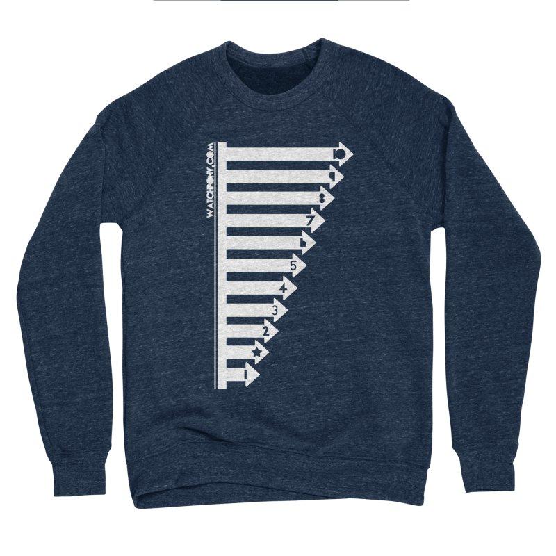10 Men's Sponge Fleece Sweatshirt by WatchPony Clothing Collection