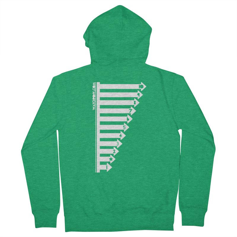 10 Women's Zip-Up Hoody by WatchPony Clothing Collection