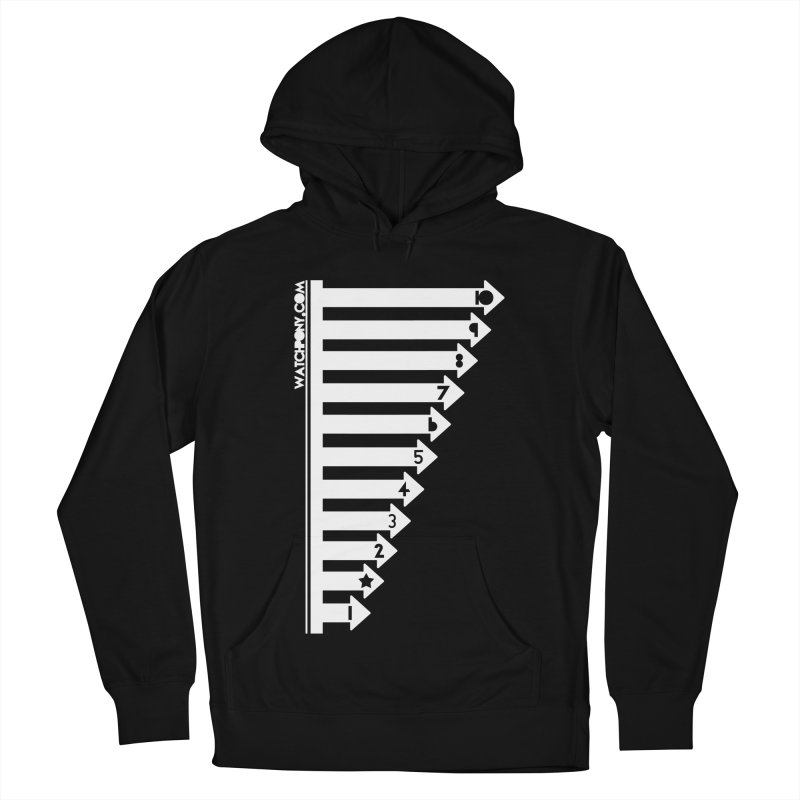 10 Women's French Terry Pullover Hoody by WatchPony Clothing Collection
