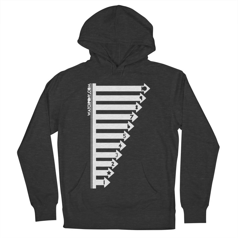 10 Men's French Terry Pullover Hoody by WatchPony Clothing Collection