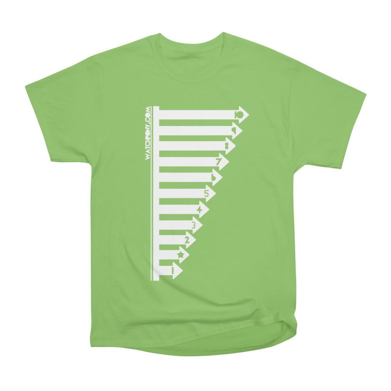 10 Women's Heavyweight Unisex T-Shirt by WatchPony Clothing Collection