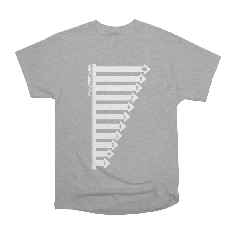 10 Men's Heavyweight T-Shirt by WatchPony Clothing Collection