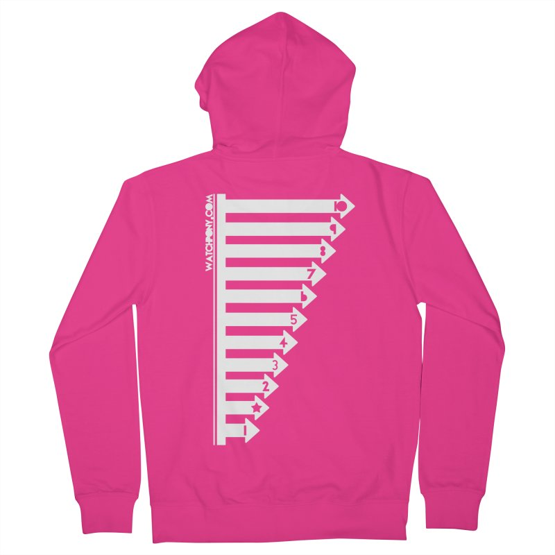 10 Men's French Terry Zip-Up Hoody by WatchPony Clothing Collection