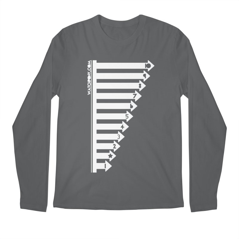 10 Men's Longsleeve T-Shirt by WatchPony Clothing Collection