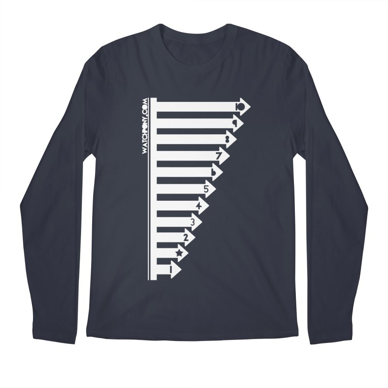 10 Men's Regular Longsleeve T-Shirt by WatchPony Clothing Collection