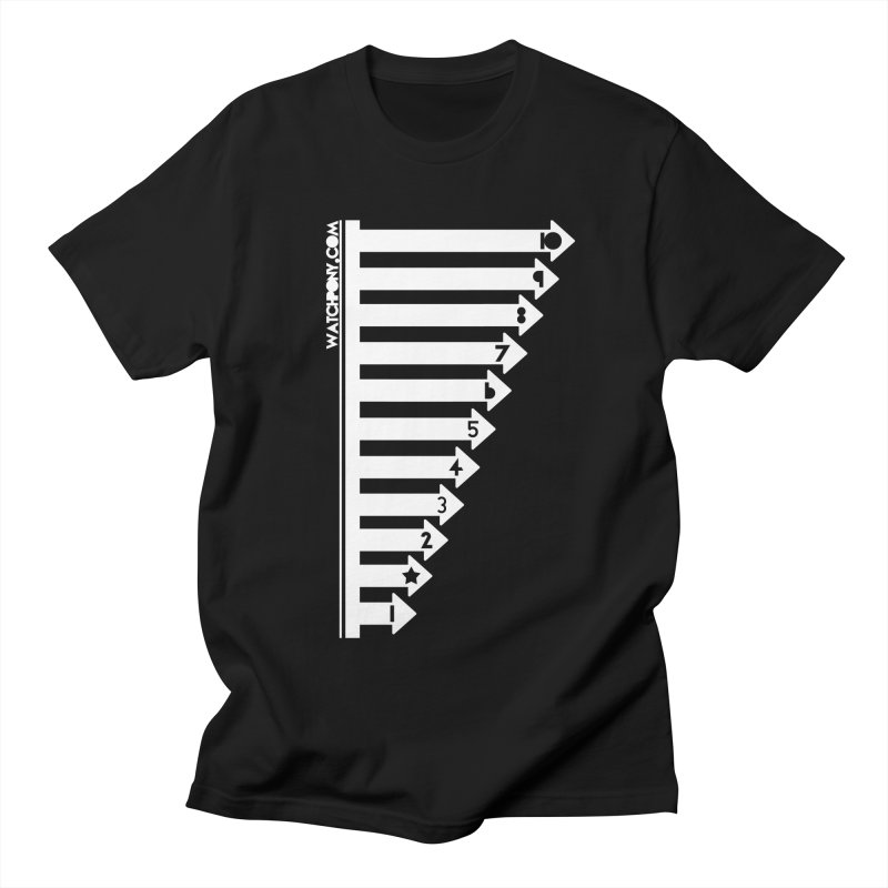 10 Men's Regular T-Shirt by WatchPony Clothing Collection