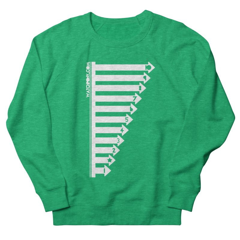 10 Women's Sweatshirt by WatchPony Clothing Collection