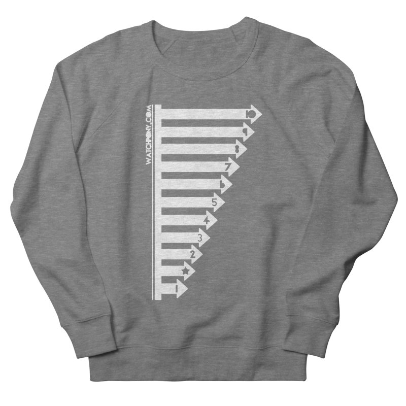 10 Women's French Terry Sweatshirt by WatchPony Clothing Collection