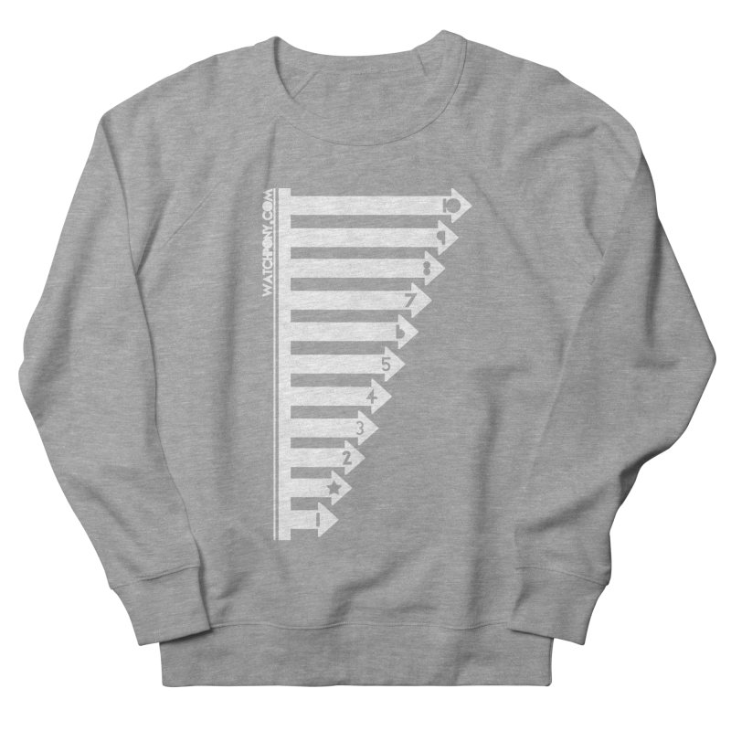 10 Men's French Terry Sweatshirt by WatchPony Clothing Collection