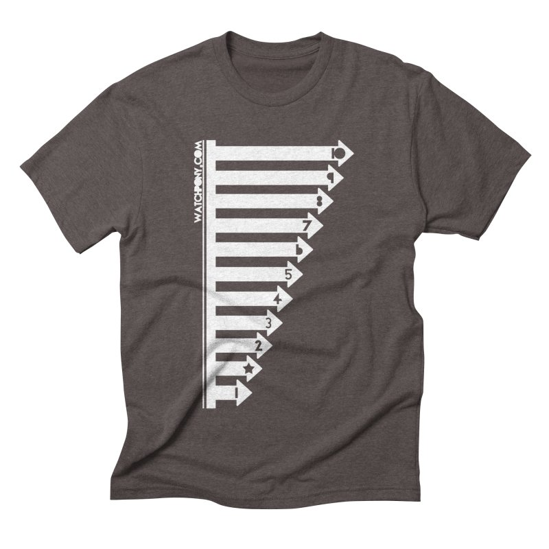 10 Men's Triblend T-Shirt by WatchPony Clothing Collection