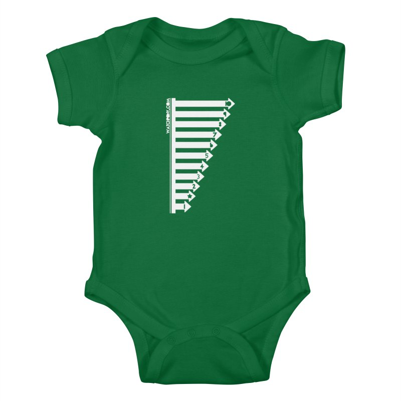 10 Kids Baby Bodysuit by WatchPony Clothing Collection