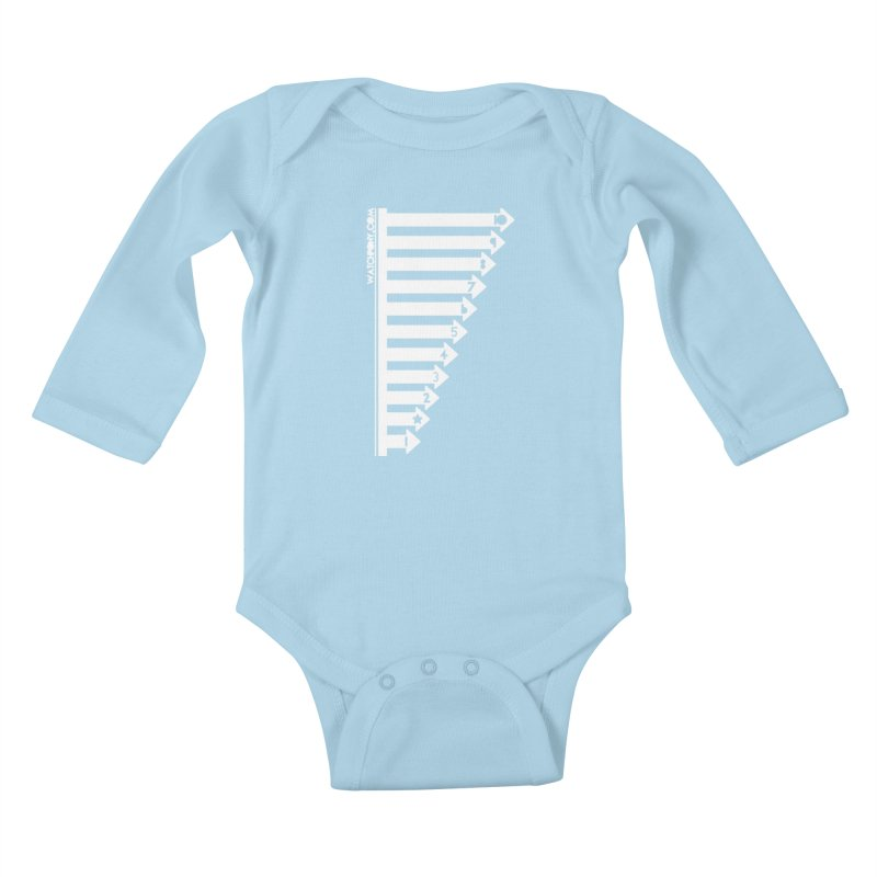 10 Kids Baby Longsleeve Bodysuit by WatchPony Clothing Collection