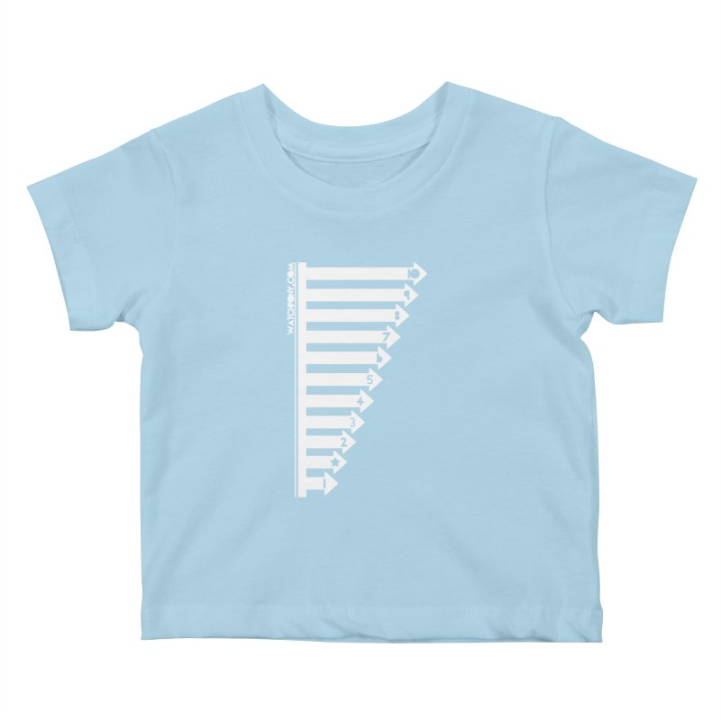 10 Kids Baby T-Shirt by WatchPony Clothing Collection