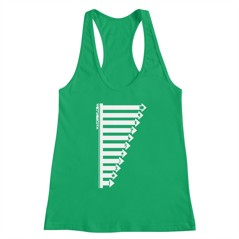 10 Women's Racerback Tank by WatchPony Clothing Collection