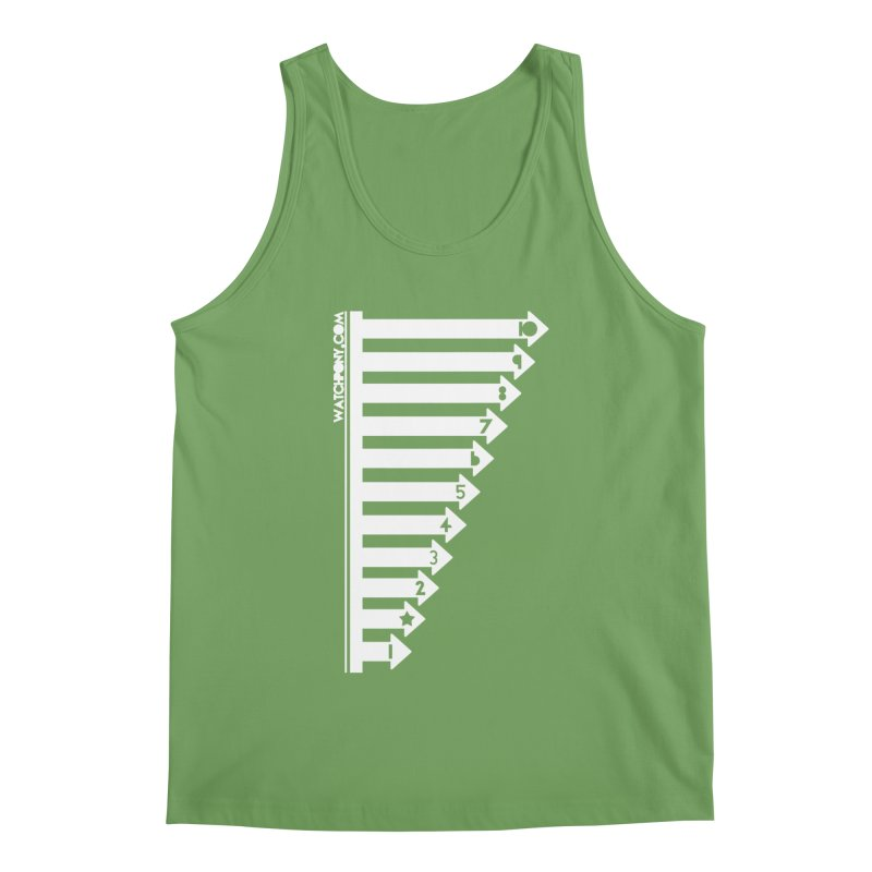 10 Men's Tank by WatchPony Clothing Collection
