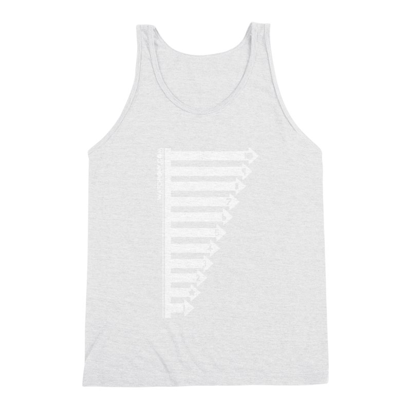 10 Men's Triblend Tank by WatchPony Clothing Collection