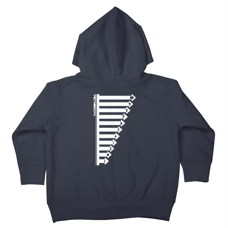10 Kids Toddler Zip-Up Hoody by WatchPony Clothing Collection
