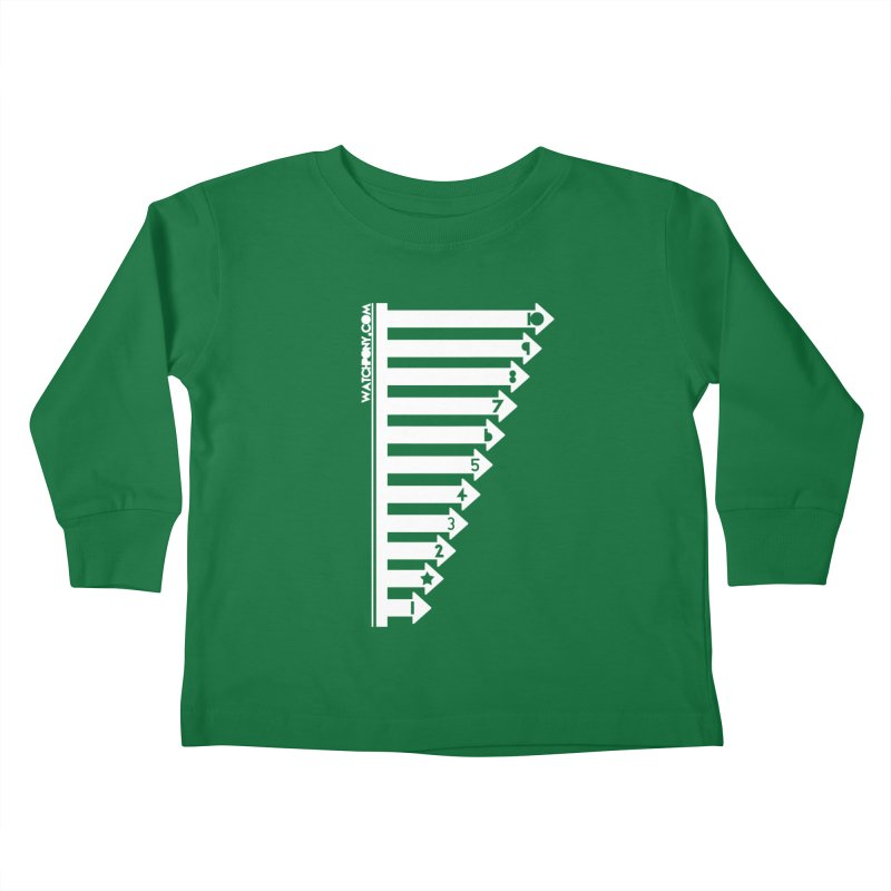 10 Kids Toddler Longsleeve T-Shirt by WatchPony Clothing Collection