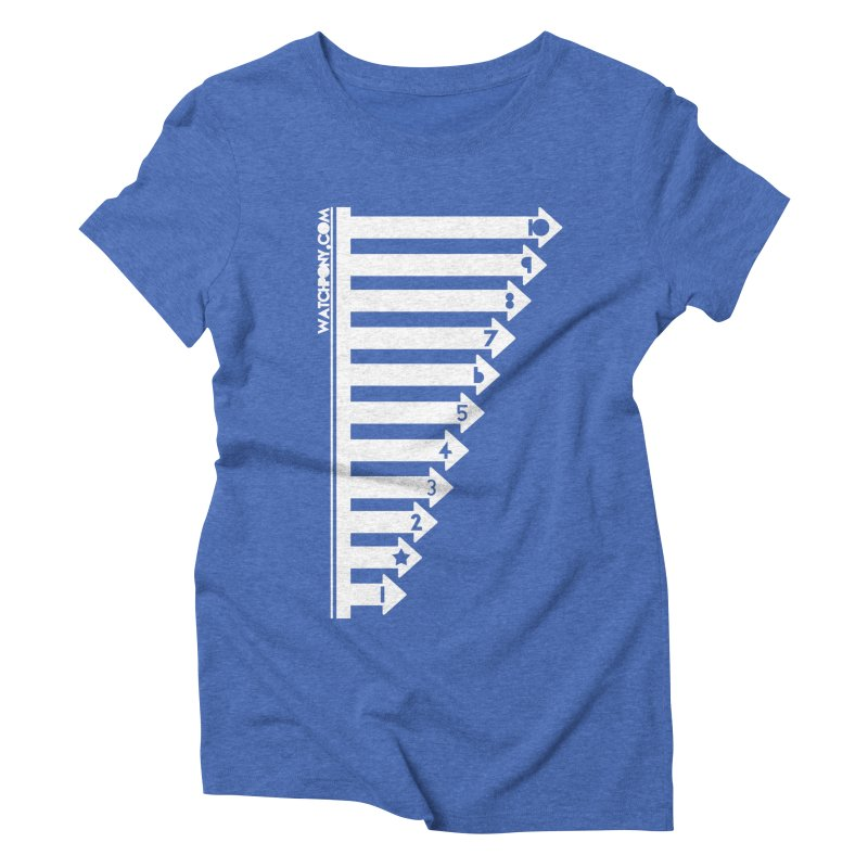 10 Women's Triblend T-Shirt by WatchPony Clothing Collection