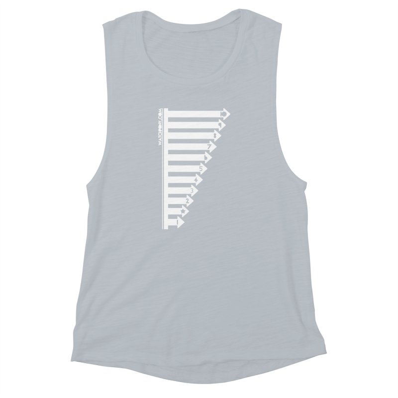 10 Women's Muscle Tank by WatchPony Clothing Collection