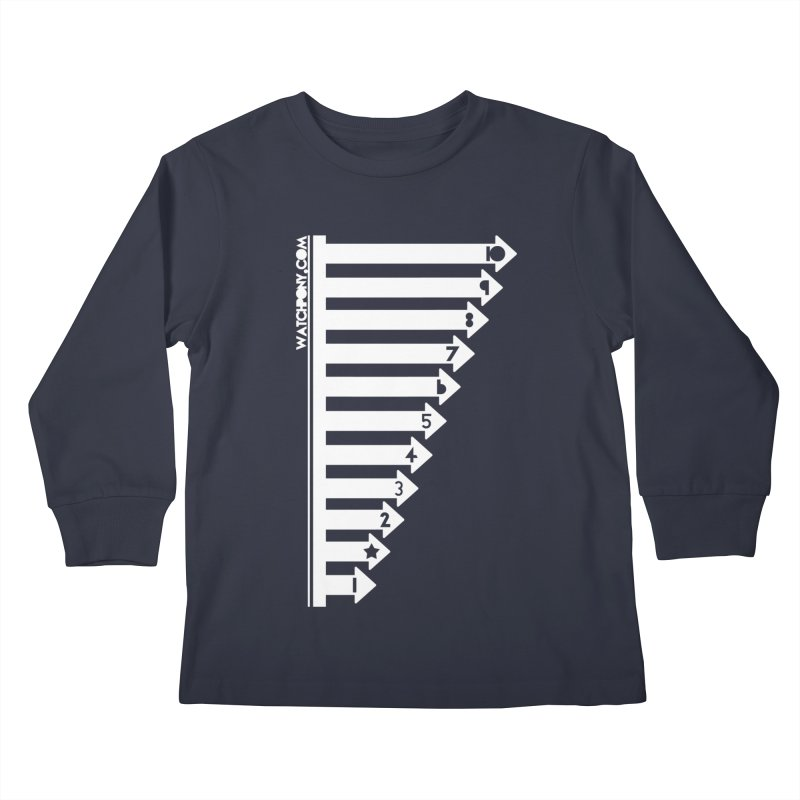 10 Kids Longsleeve T-Shirt by WatchPony Clothing Collection