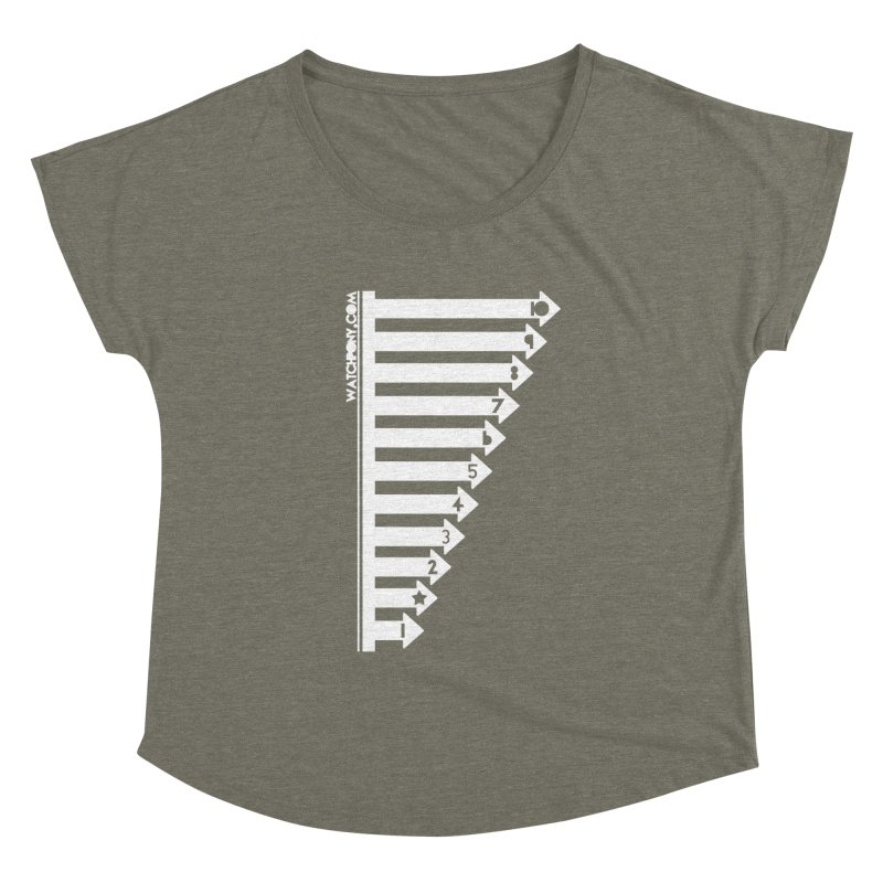 10 Women's Scoop Neck by WatchPony Clothing Collection