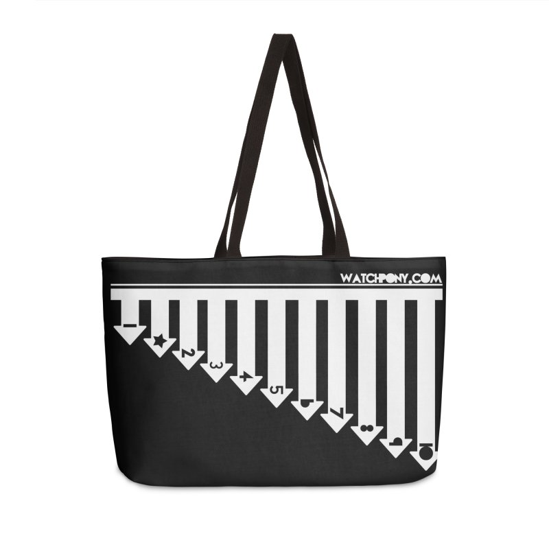 10 Accessories Weekender Bag Bag by WatchPony Clothing Collection