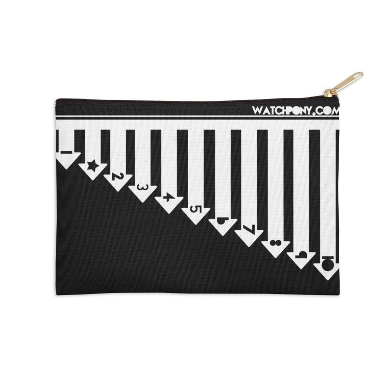 10 Accessories Zip Pouch by WatchPony Clothing Collection